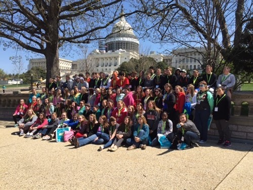 The Benefits of taking your 8th Grade Class to Washington, D.C.