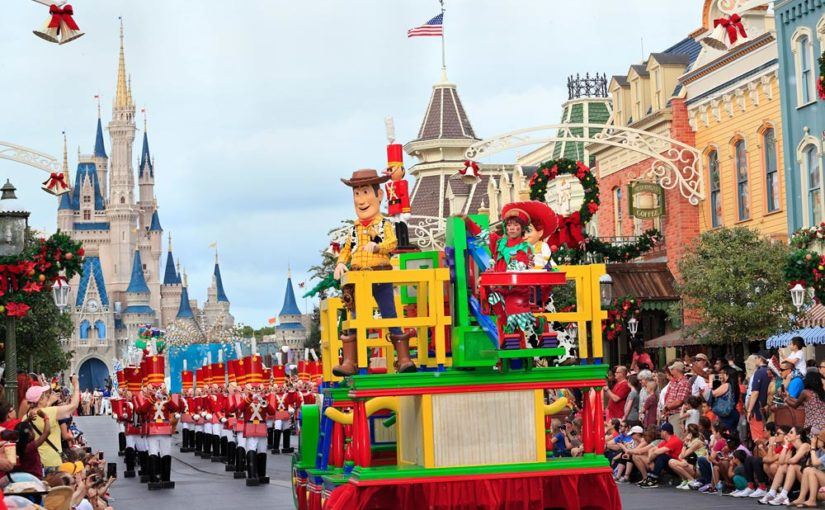Marching Band Parade Opportunities in Orlando around Christmas